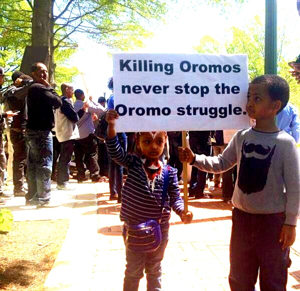 killing oromos